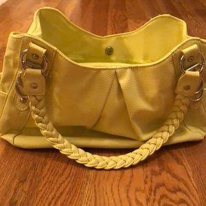 Apt 9 neon yellow purse